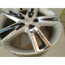 Jogo Roda Hyundai I30 Aro 17 Original - Falta Pintura