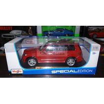 1:18 Mercedes Benz Glk Rojo Maisto Special Edition