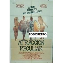 Afiche Atraccion Peculiar Con Olmedo Porcel Codevila 1988