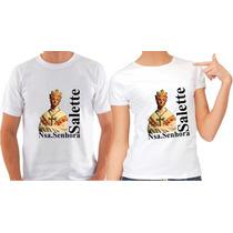 Camiseta Nossa Senhora Da Salette Santa Catolica Igreja