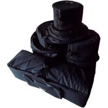 Bag Para Bateria - 7 Peças - Modelo Extra Luxo
