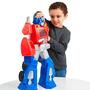 Figura Gigante Optimus Prime Rescue Bots Transformers 55 Cms