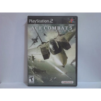 Ace Combat 5 - Ps2, Com Manual, Original.