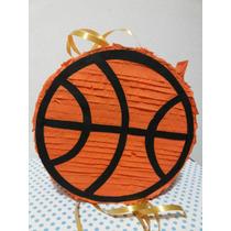 Piñata De Basquet! Hermosa! Ideal Fanáticos