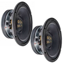 Kit 2 Alto Falante Woofer Eros 12 Pol 650mg 650w Rms Medio