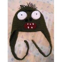 Gorritas Tejidas A Crochet:zombie, Rayomc, Pikachu, Buho,