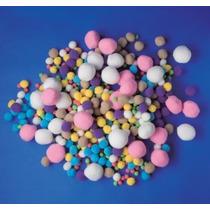 Fluffy Poms - Playbox Chenille Varios Colores Y Tamaños