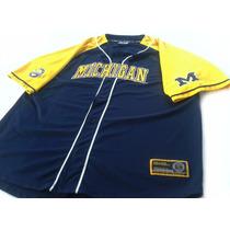 Camiseta Beisbol Michigan Wolverines Original 3xl Xxxl Mlb