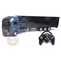Caminhão Volvo Fh16 R/c 1:32 Controle Remoto Motorart Truck