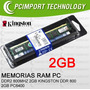 Memoria Ram Ddr2 800 Mhz 2gb Kingston Envio Todo Chile