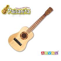 Guitarra De Madera Paisanita Nº6 Arval 026