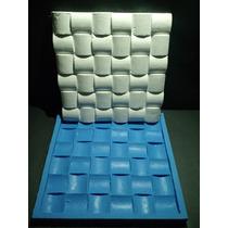 Forma Silicone Mosaico 3d Gesso Ondulado 29x29 Cm