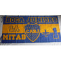 Bandera Boca Juniors La Mitad Mas Uno 150 Cm X 75 Cm