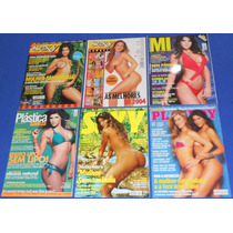 Mulher Samambaia Lote 6 Revistas Sexy Playboy Muscle In Form