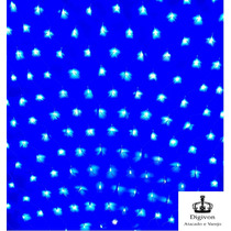 Rede Azul 160 Leds Natal 8 Funçoes Pisca Pisca 110v