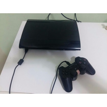 Playstation 3 Super Slim 250gb + Controle + 10 Jogos Barato