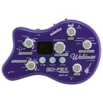 Pedaleira Para Guitarra Waldman Gfx-10 Go-fex