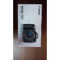 Camara Canon Eos 70d Nueva (solo Cuerpo)