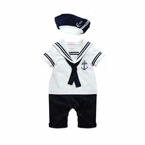 Lindo Macacão Marinheiro Infantil Body Bebe Pronta Entrega