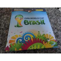 Álbum Figurinhas Copa Mundo 2014 - Capa Dura - Muito Bom
