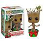 Funko Pop Dancing Groot Nieve Edición Especial Navidad