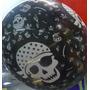 Globos Pirata Negro X 20 Unidades Cumpleaños