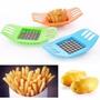 Cortador E Fatiador De Legumes Batata Frita - Aço Inoxidável