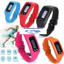 Relógio Digital Pedômetro Distancia Gasto Calorico Nike