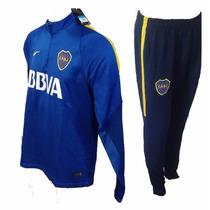 Conjunto Entrenamiento Boca Jrs Nike Buzo + Pantalon Oferta