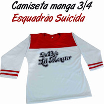 Camiseta Daddys Lil Monster