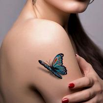 Tatuagem Temporária 3d Muito Real Varios Modelos Lindos