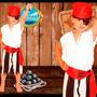 Disfraz Pirata De Candela Talles Oferta- Minijuegosnet