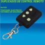 Copias Duplicados De Control Remoto De Autos Y Portones
