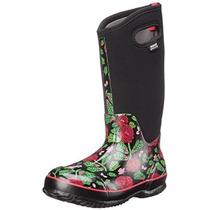 Mujeres Pantanos Classic Rose Garden Boot Nieve Alto