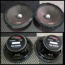 Medios Lanzar Pro-hemid8 275watts 4 Ohm Originales