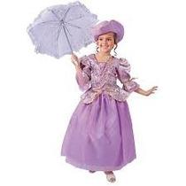 Disfraz Dama Antañona Niña