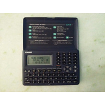 Agenda Eletrônica Calculadora Casio Sf3300a