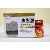Kit Grip Meike P/ Nikon D5200 + 1 Bateria En El14