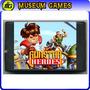 Gunstar Heroes Cartucho Sega 16 Bits -local-cap-museum Games