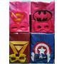 Souvenir Capas Super Hereo + Mascara-super Heroes