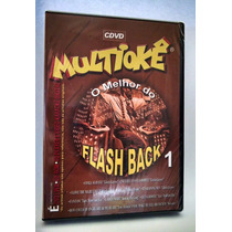 Dvd Multiokê - O Melhor Do Flash Back - 1 ( Frete Grátis )