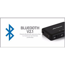 Adaptador De Audio A Bluetooth Acteck Usb Auxiliar 3.5