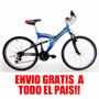 Bicicleta Rodado 20 Doble Susp. C/ Camb Mega Envio Sin Cargo