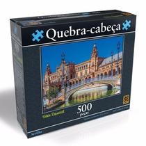 Brinquedo Novo Grow Quebra Cabeça Puzzle 500 Peças Sevilha