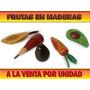 Frutas Elaboradas En Maderas Por Unidad