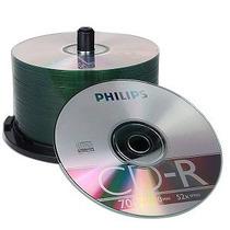 Cd Rw Marca Philips Nuevos Con Bolsita Ideal Musica Datos