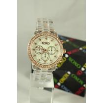 Relojes Xoxo Acrílicos Importados 100% Originales