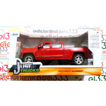El333 1:24 Chevy Silverado 14 Camioneta Jada Just Trucks