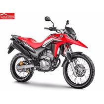 Moto Honda Xre300 Año 2015 Color Rojo