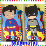 Piñata Entamborada,batman.superman.avenger.descendientes.car